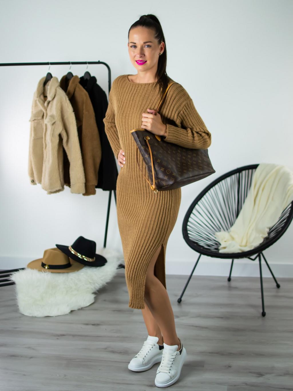 Šaty Atum brown