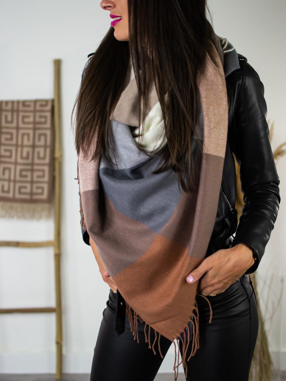 Šátek Sweet brown