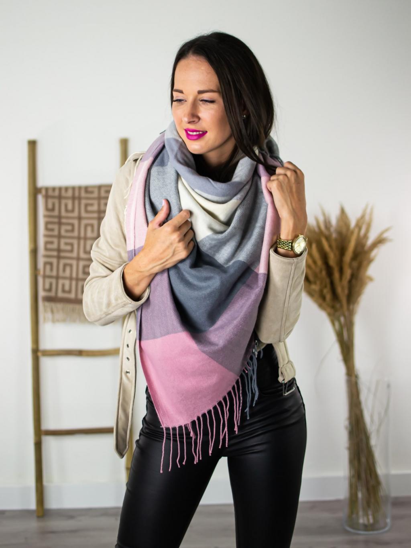 Šátek Sweet pink