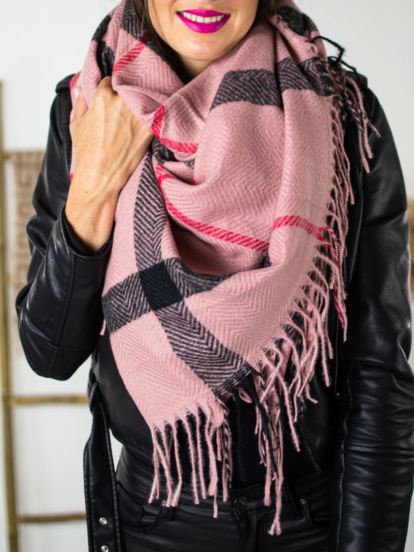 Šátek BB pink