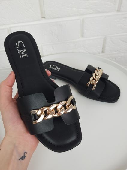 Pantofle Sarah black