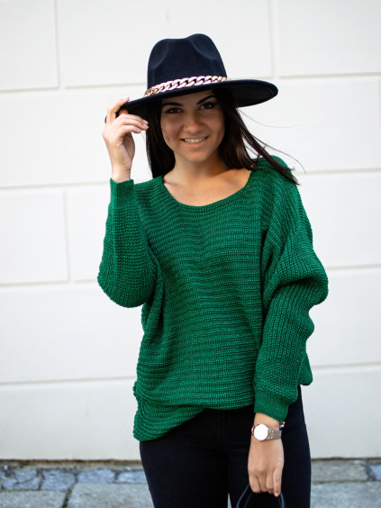 Svetr Glitte green