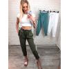 Kalhoty Luxe – khaki