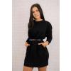 Teplákové šaty black