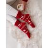 ponozky christmas red (1)