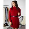 Rolákové šaty Glitte red