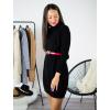 Rolákové šaty Glitte black