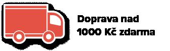 Doprava zdarma nad 1000 Kč