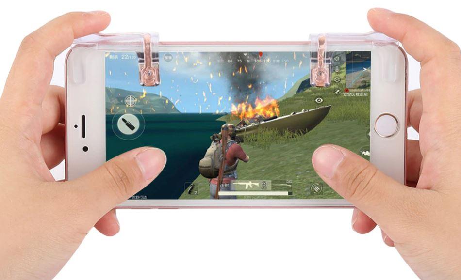 Herní tlačítka pro mobilní telefon