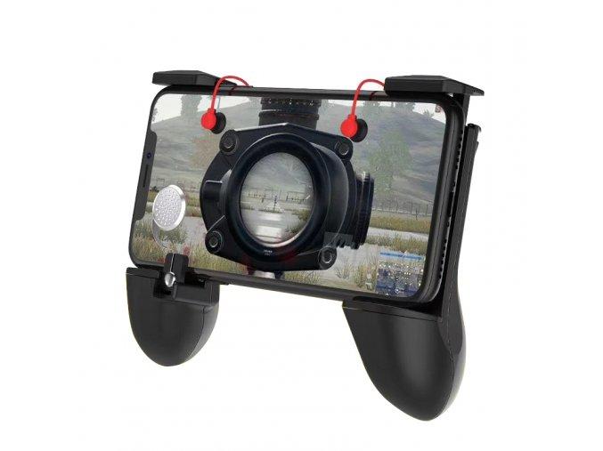 Speciální ovladač s integrovanými triggery a joystickem