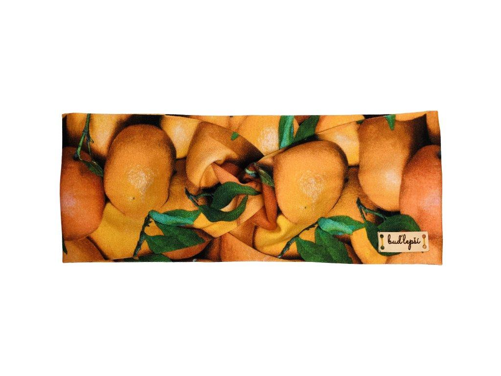 Čelenka - mandarinky