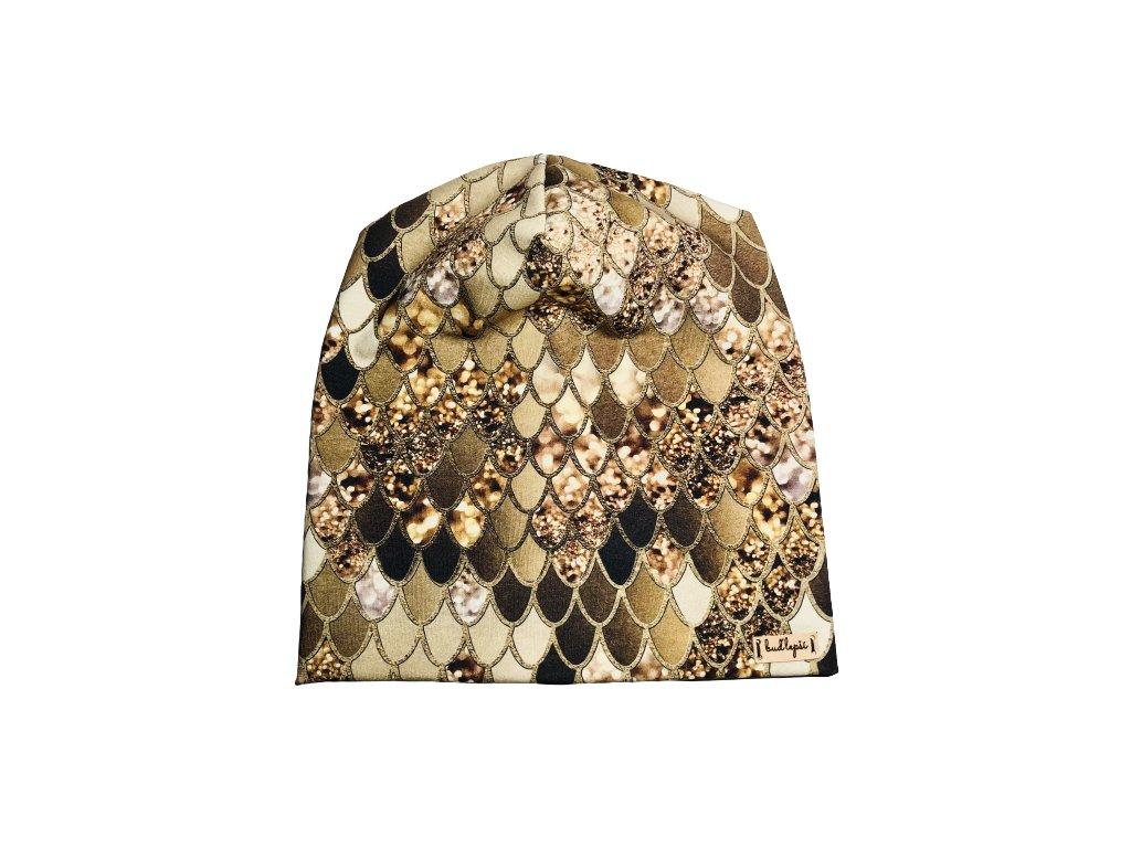 Čepice - Zlaté šupiny