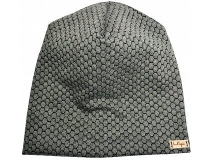 Čepice - šedé plásty