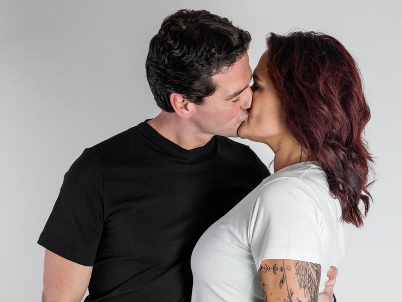 Zamilovaná limitka basic triček pro ni a pro něj