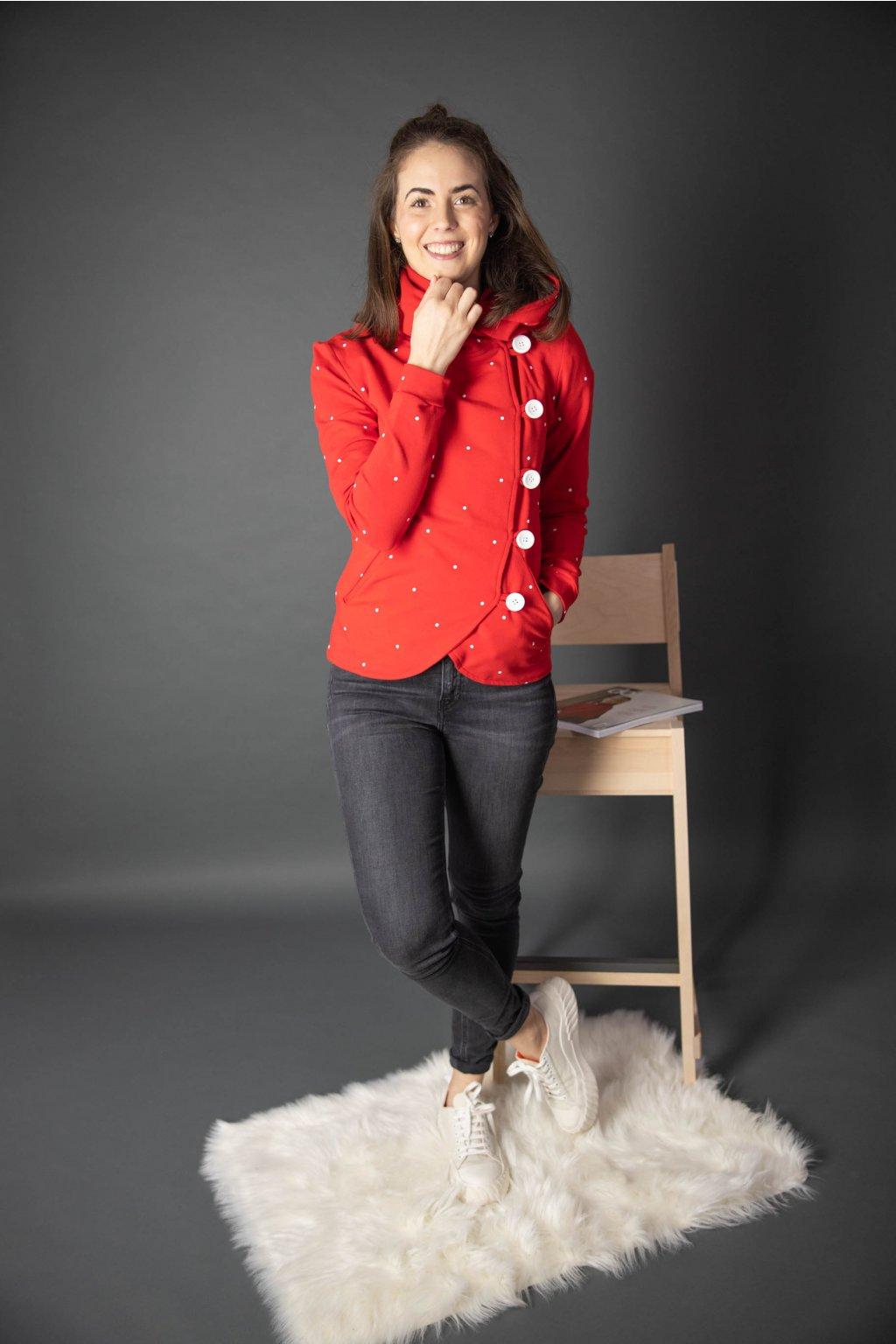 Kabátek Dream Red Dott - Buga 4d133162bb
