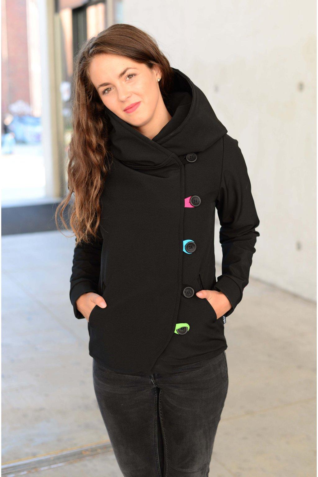 Softshell kabát Short Dream/Black