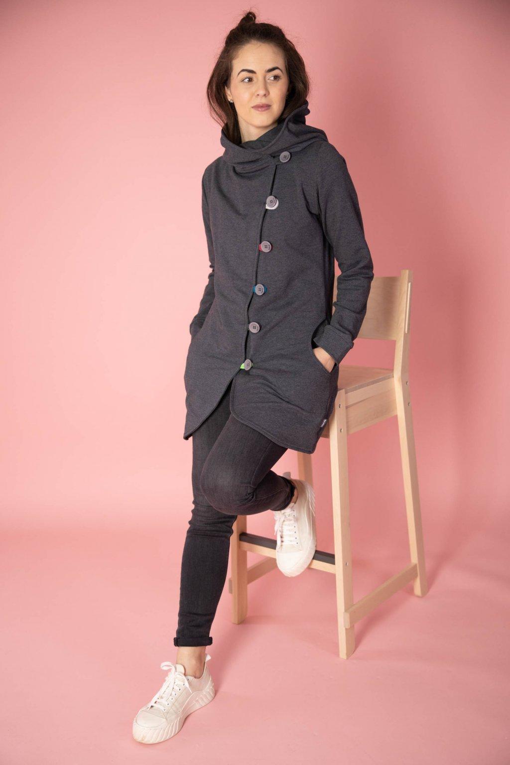 Kabátek Aimee Grey Mel