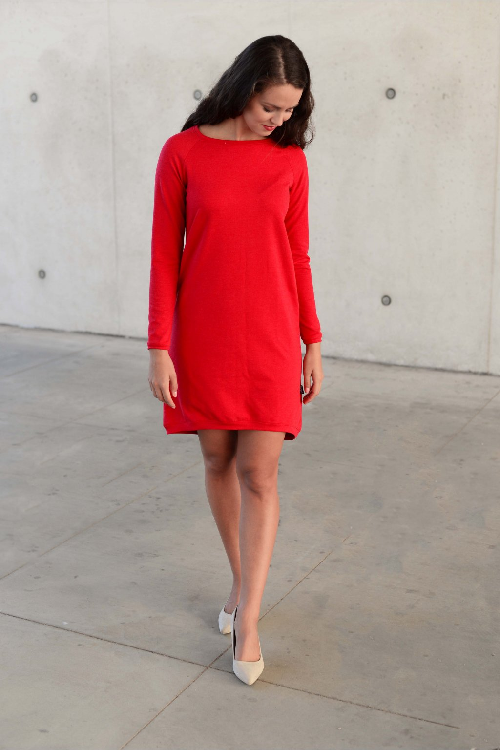 Šaty Elin Red