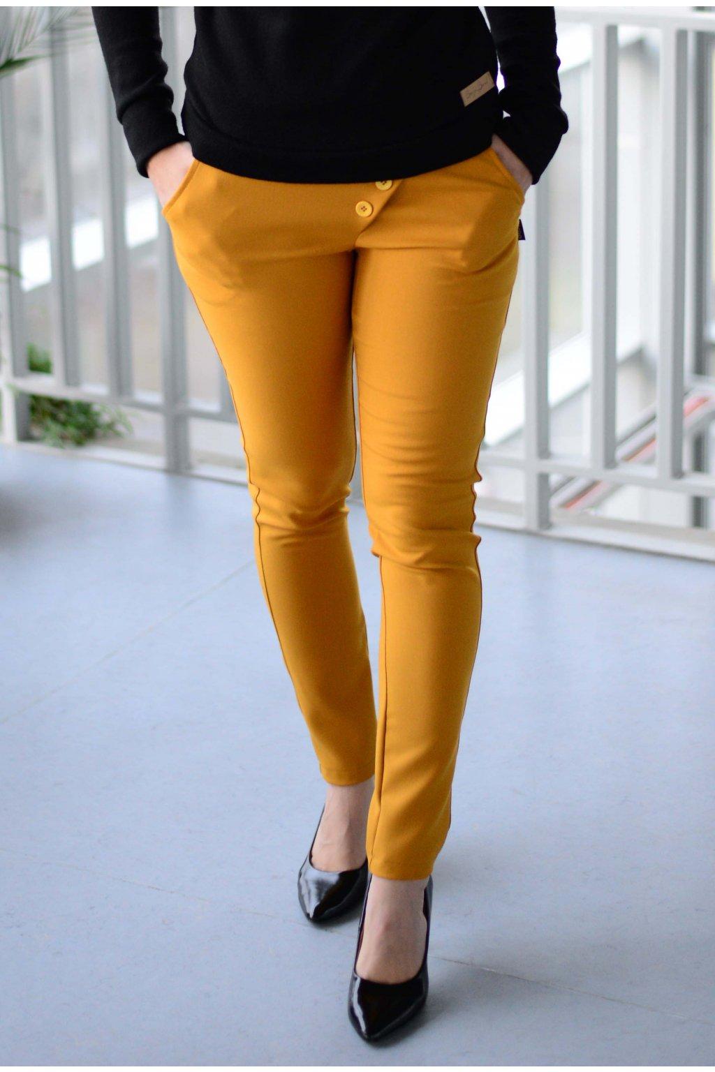 Kalhoty Reece Mustard