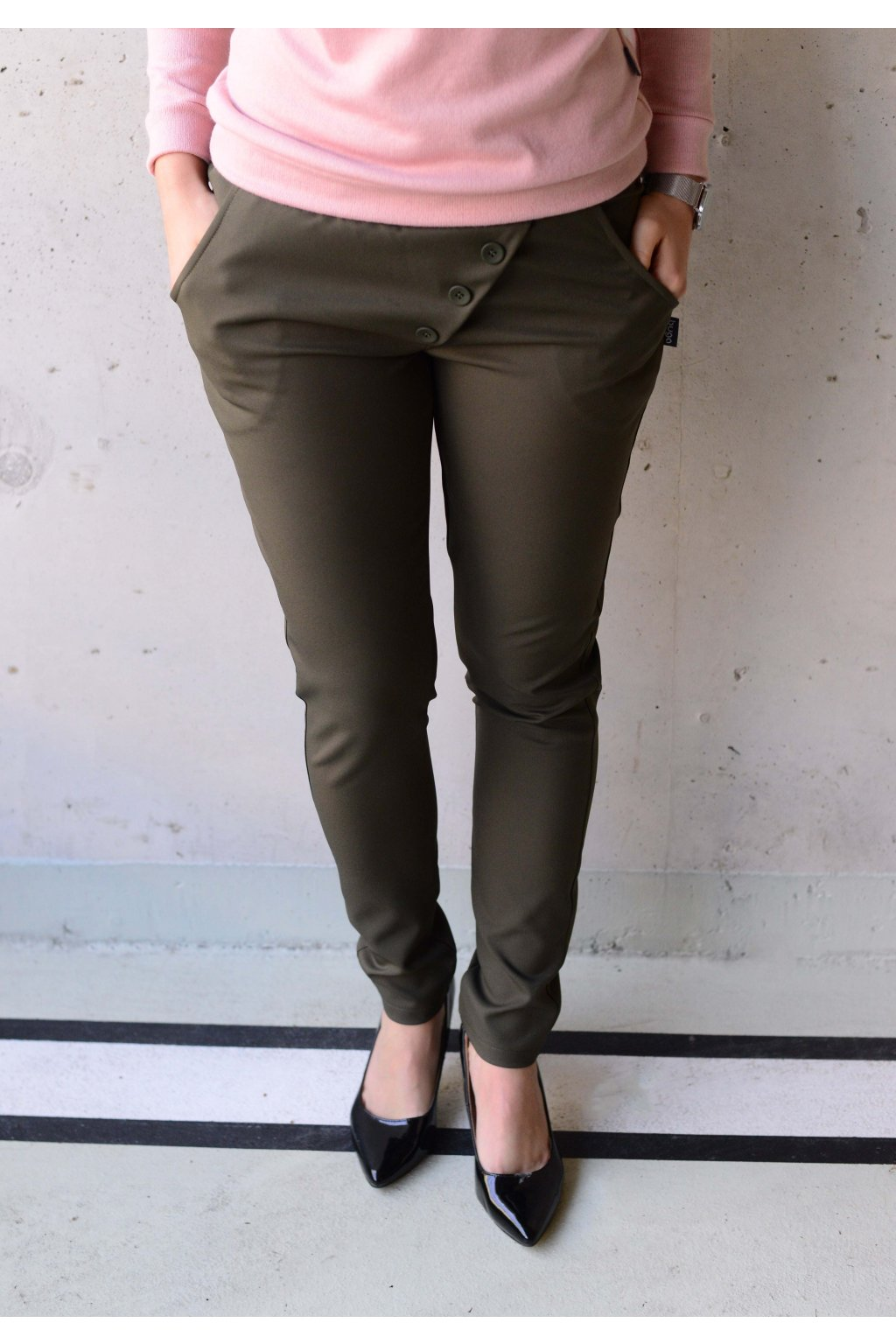 Kalhoty Reece Khaki