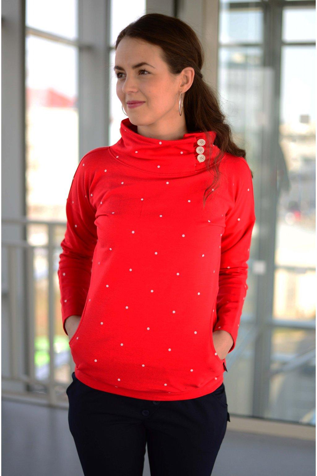 Mikina Zeena Red