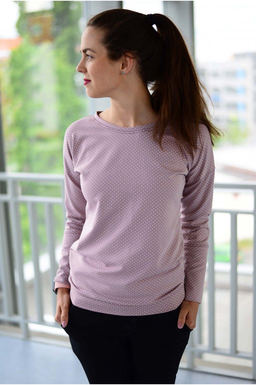 Mikina Kamili  Light Pink