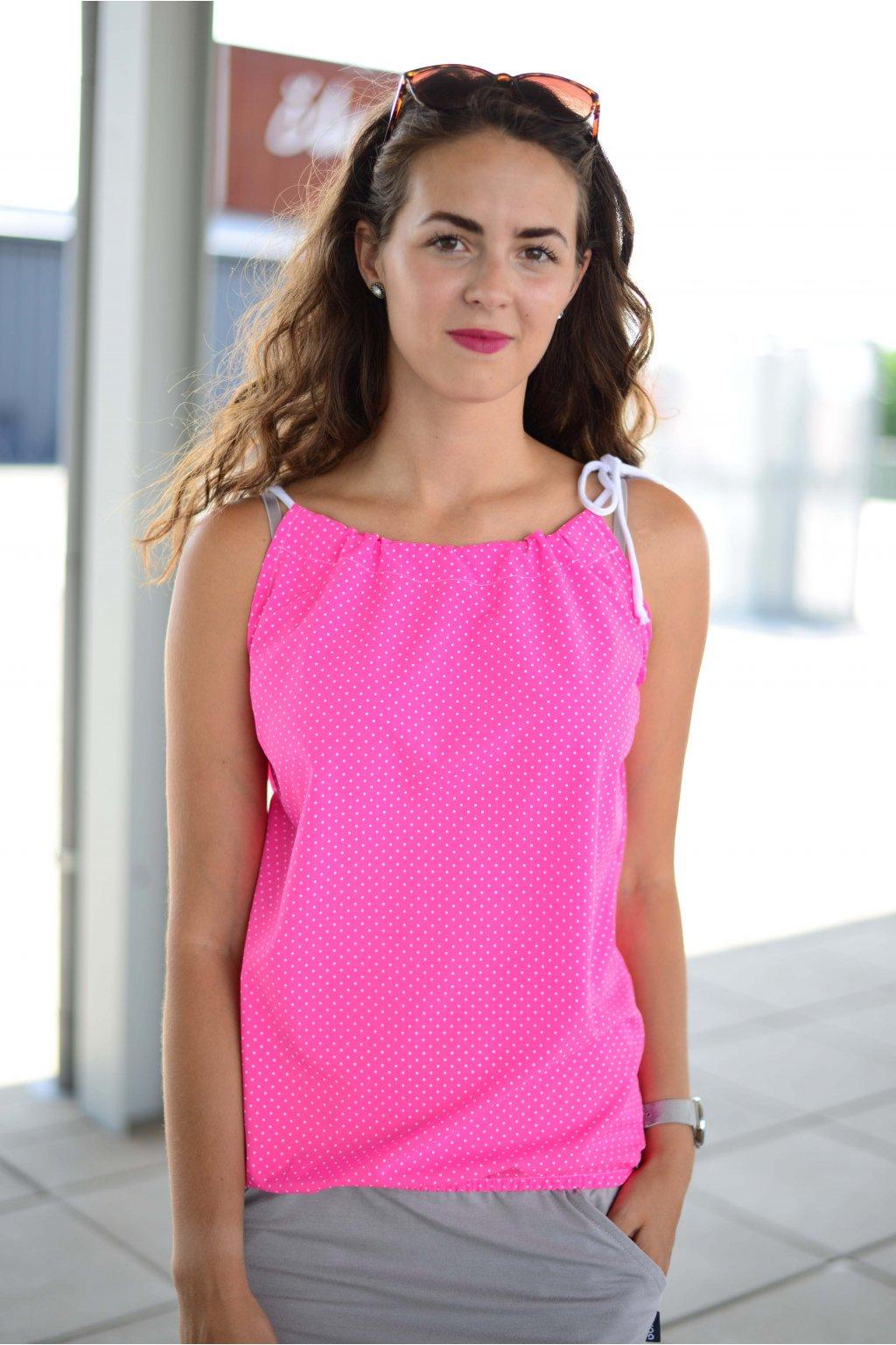Top Breeze Neon Pink