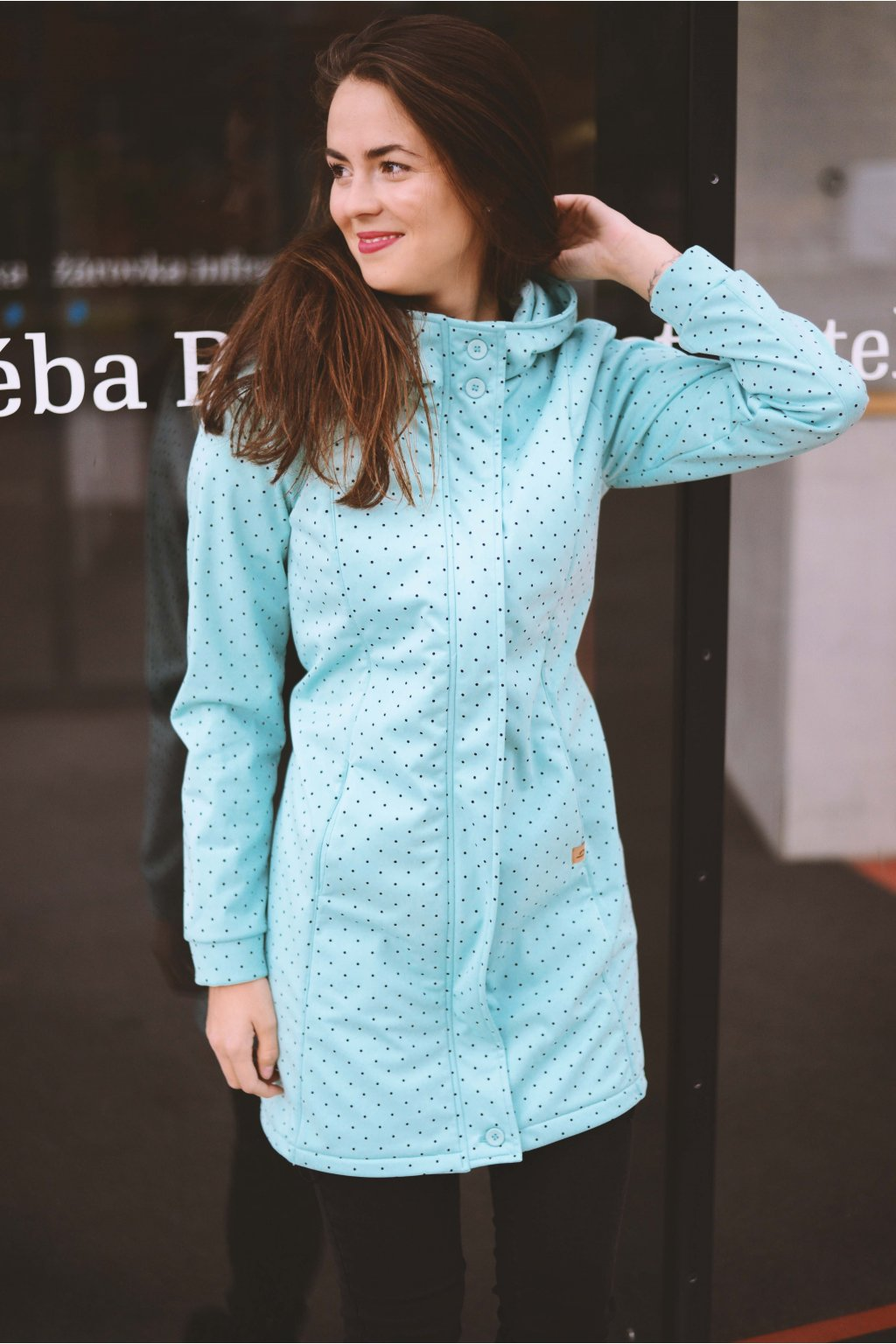 Softshell bunda Grace Mint