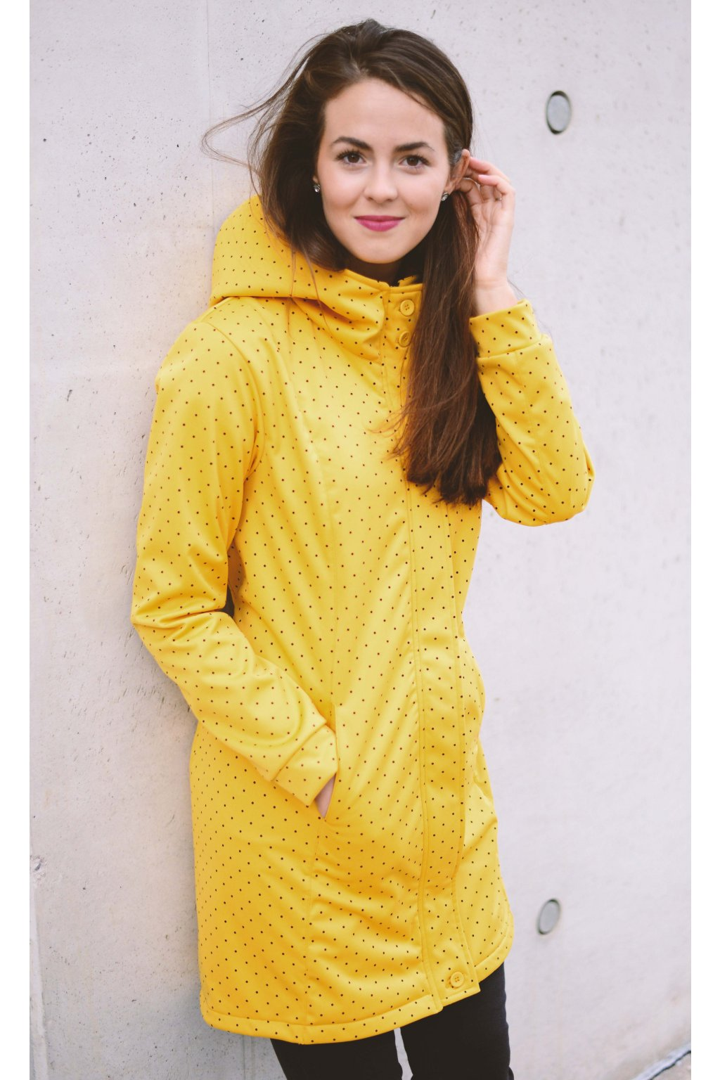 Softshell bunda Grace Mustard