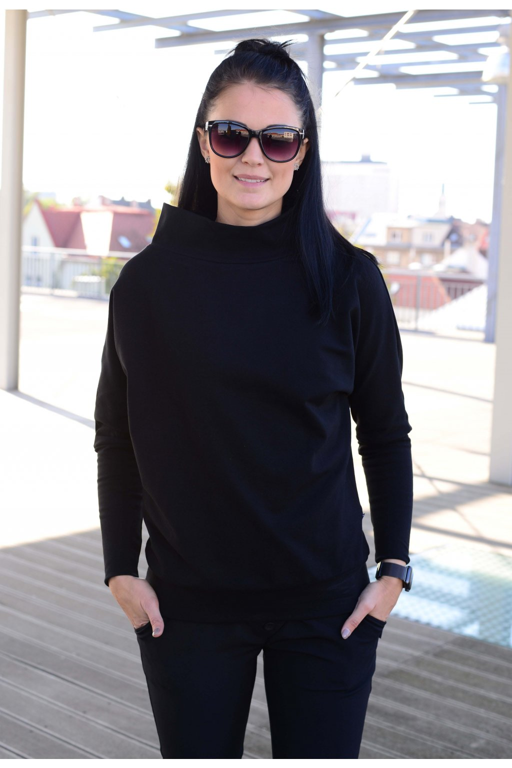 Mikina Gaia Black