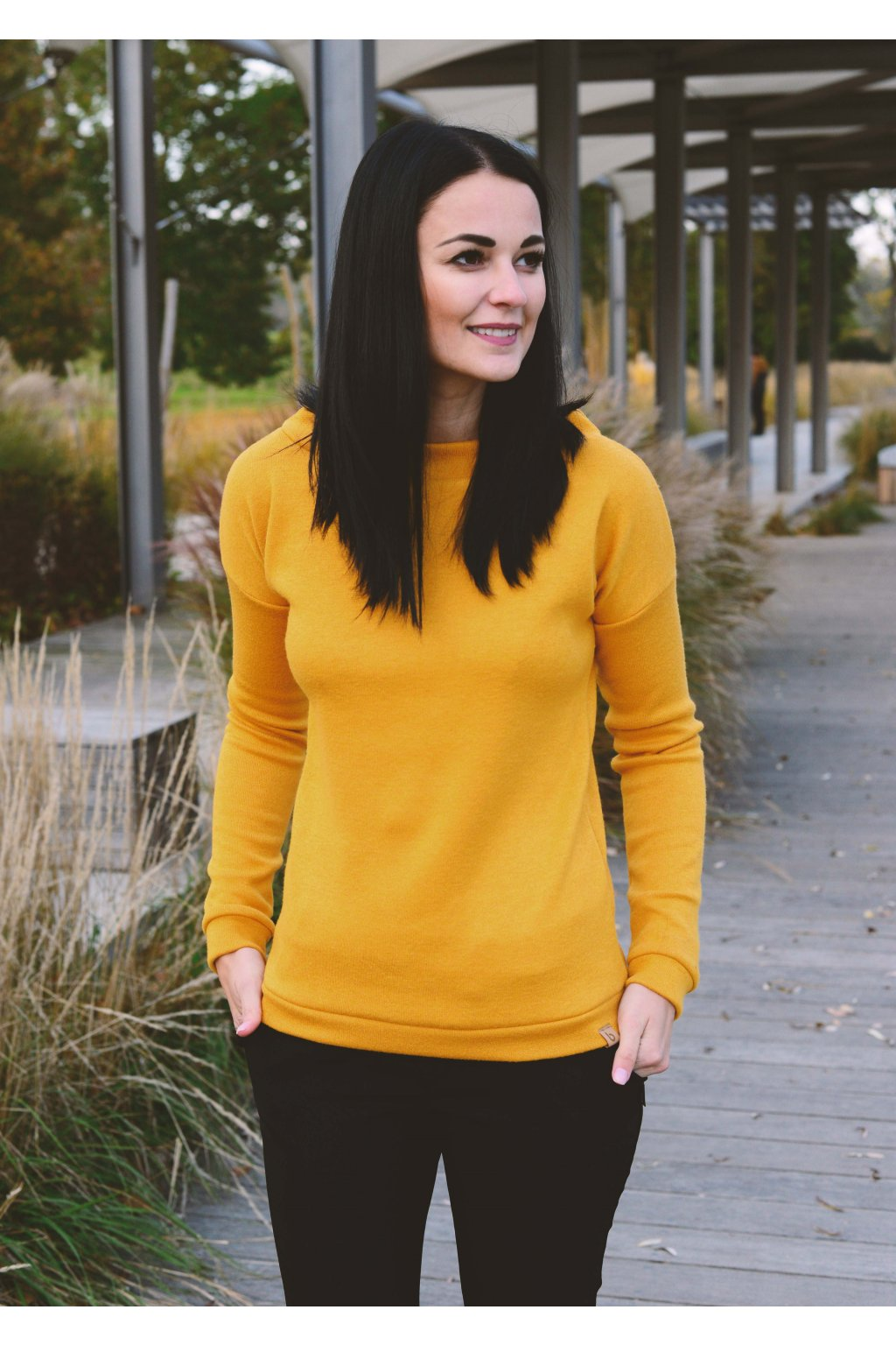 Svetr Lisha Mustard