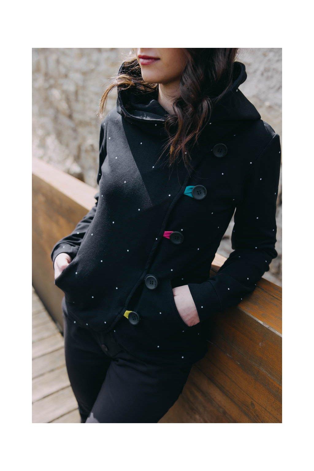 Kabátek Dream Black Dott