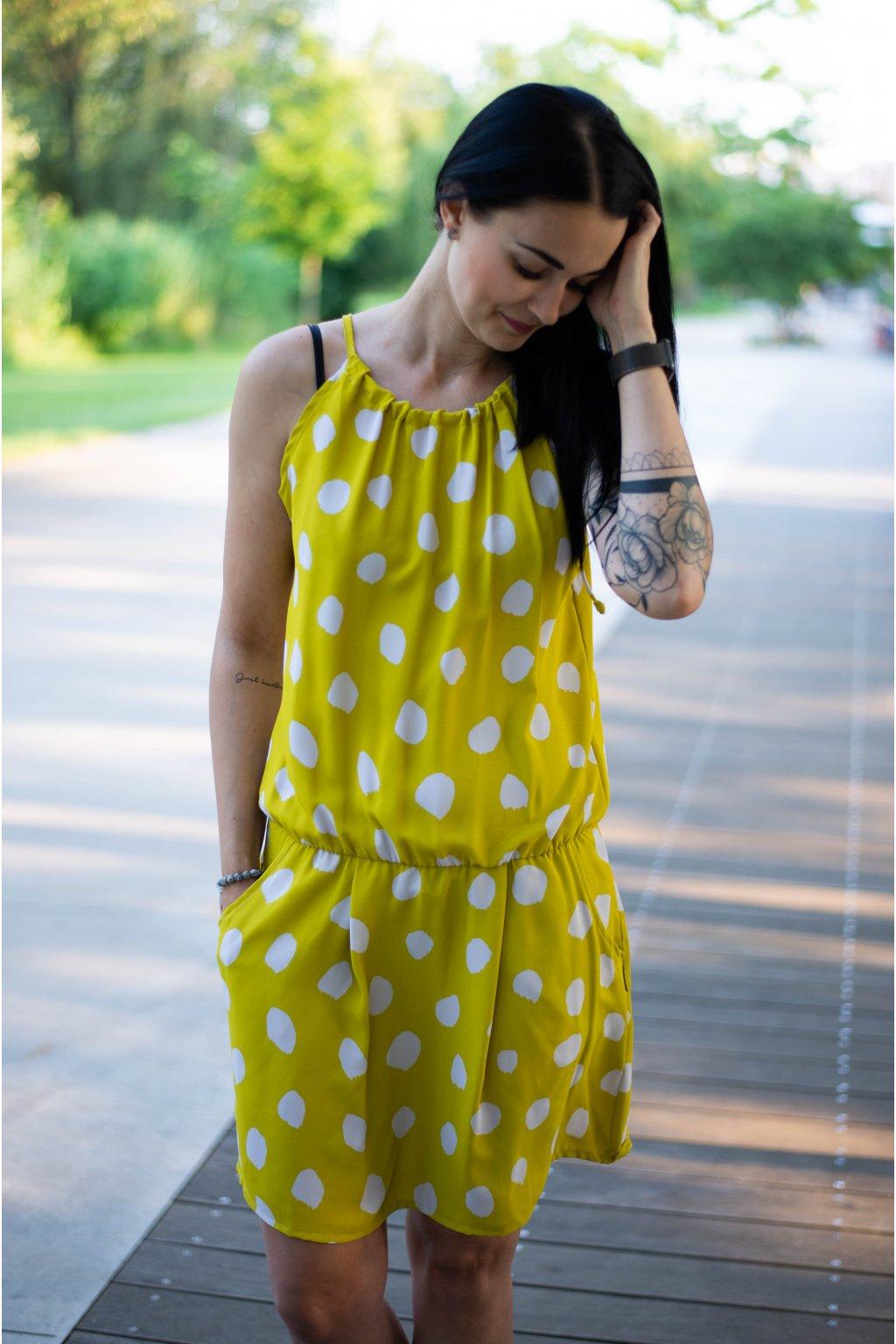 Šaty Breeze Lime