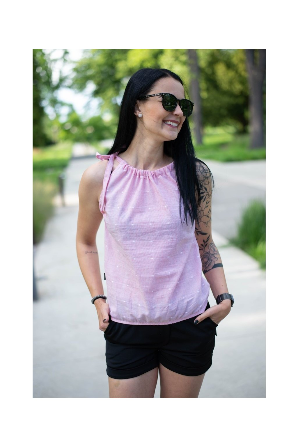 Top Breeze Pink Dott