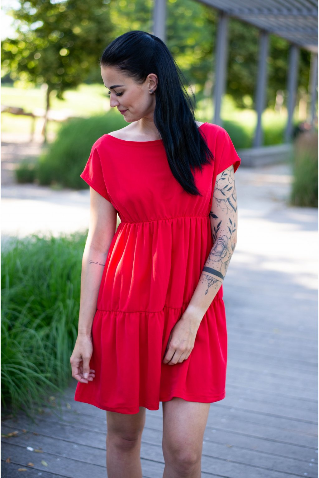 Šaty Dalila Red