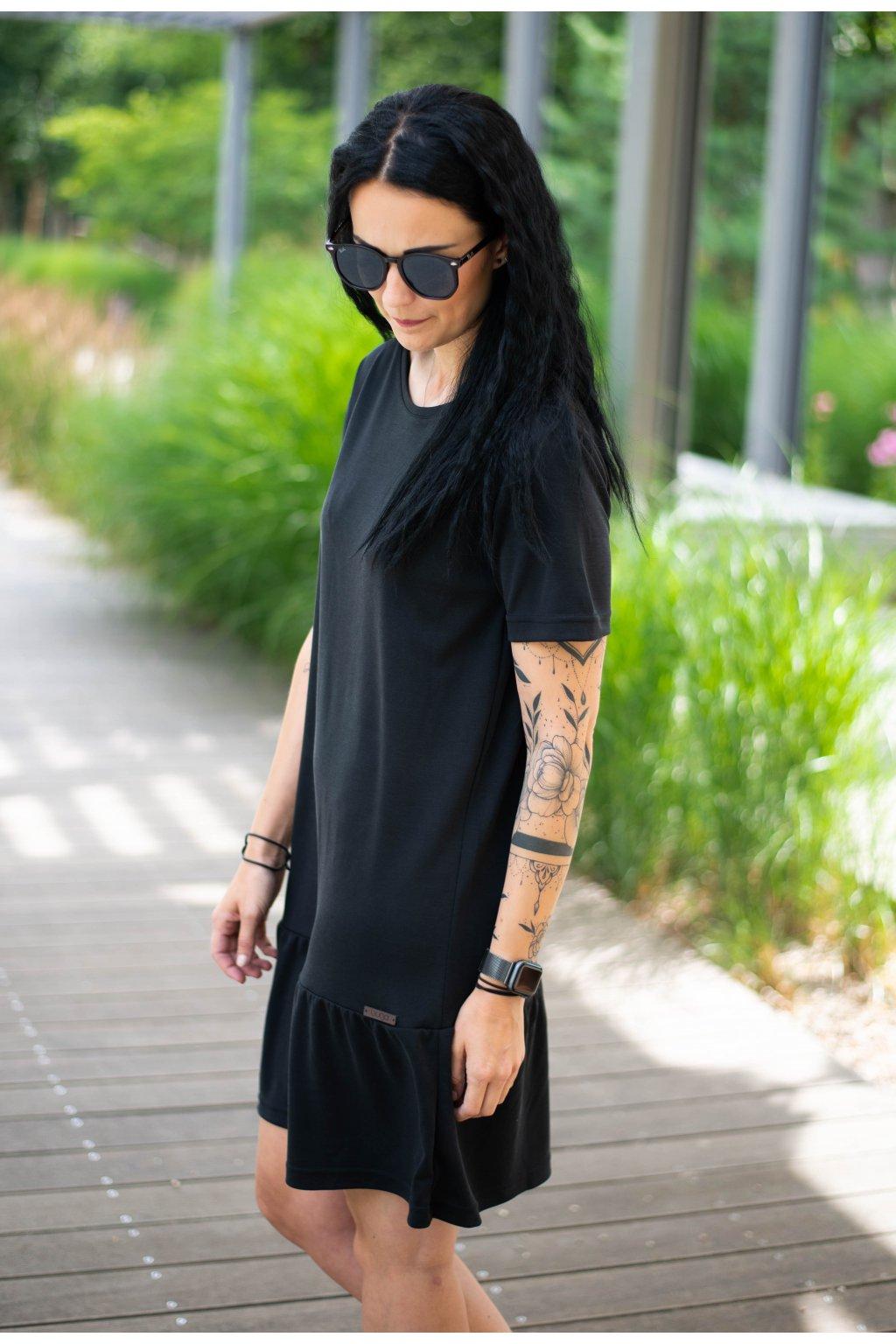 Šaty Makeda Black