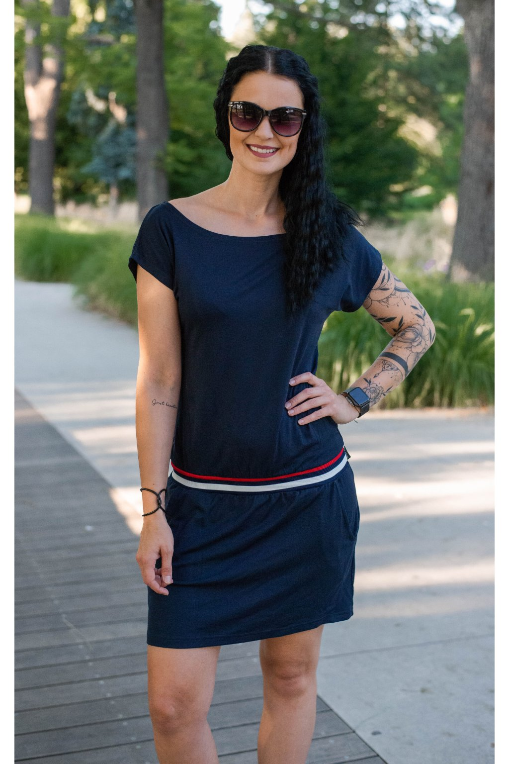 Šaty Elegance Belt