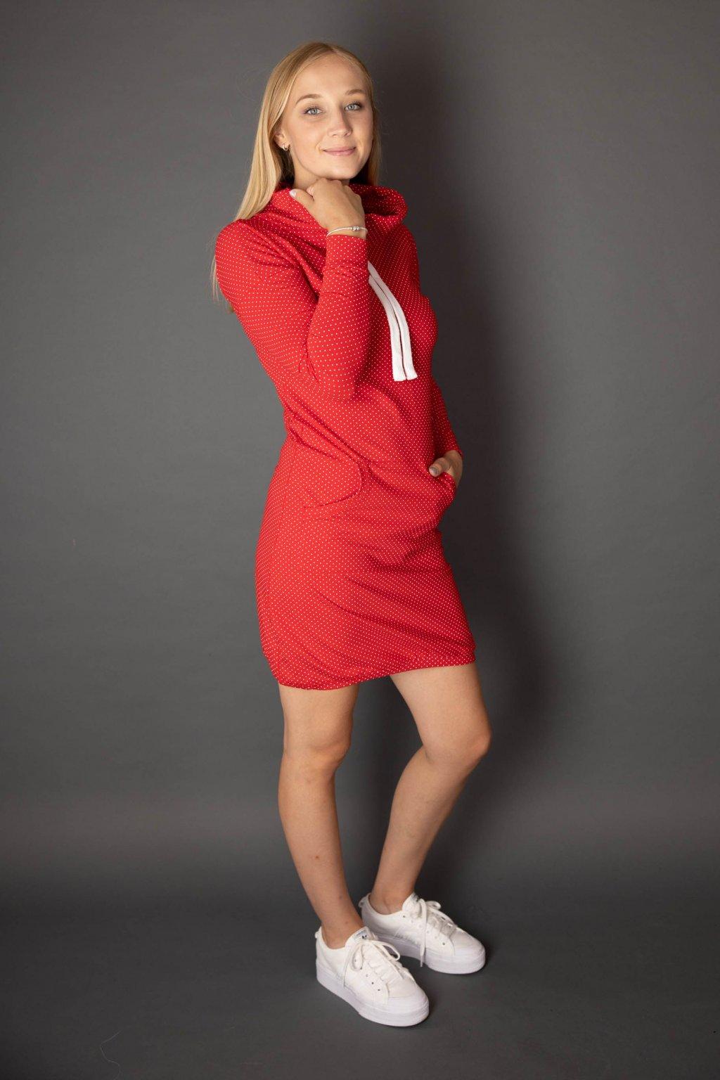 Šaty Thalia Red Dott
