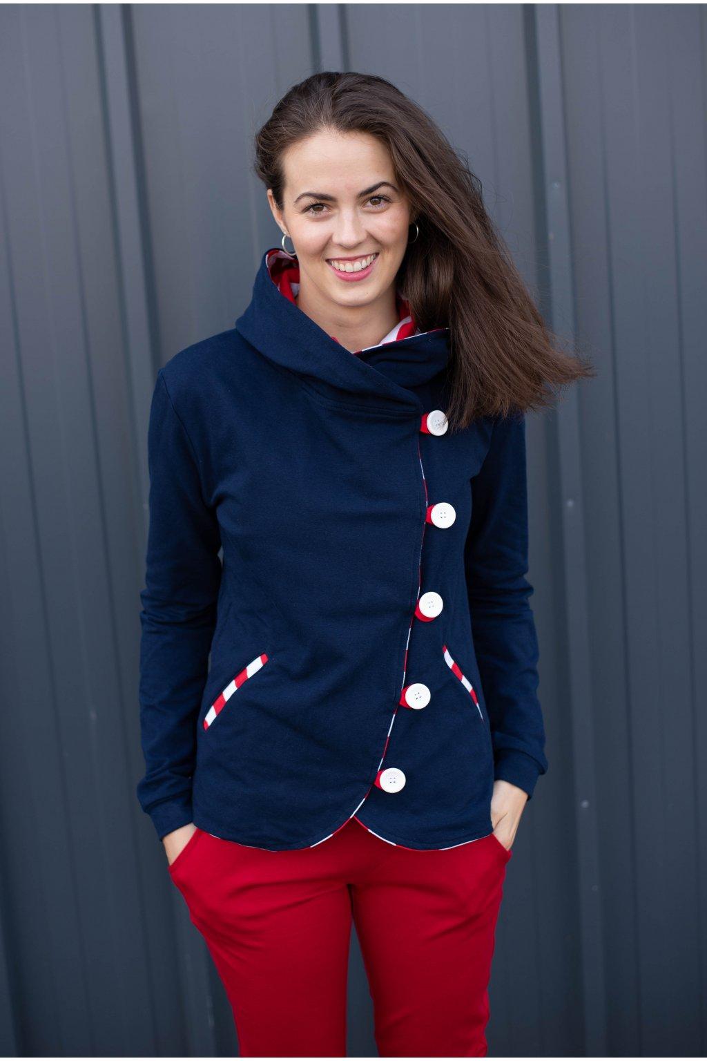 Kabátek Dream Red Stripe