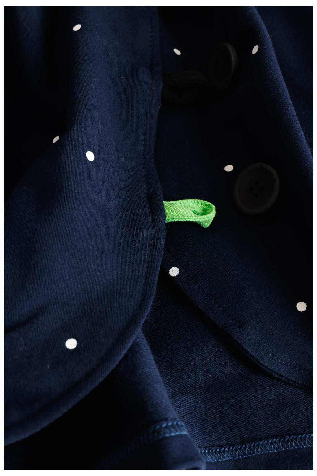 Kabátek Dream Navy Dott