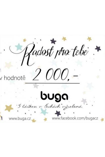 DárkováPoukázka2000