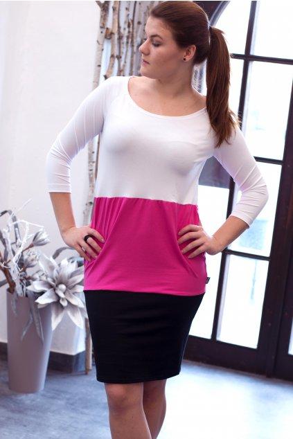 lila black pink