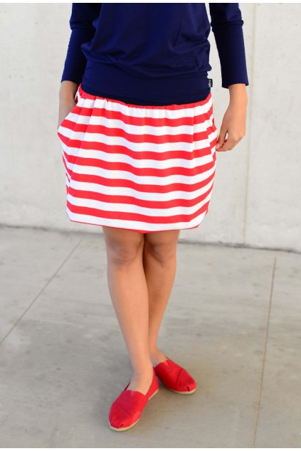 Sukně Ball Red Stripe