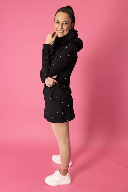 Kabátek Aimee Black Dott