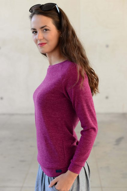 Svetr Mel Purple