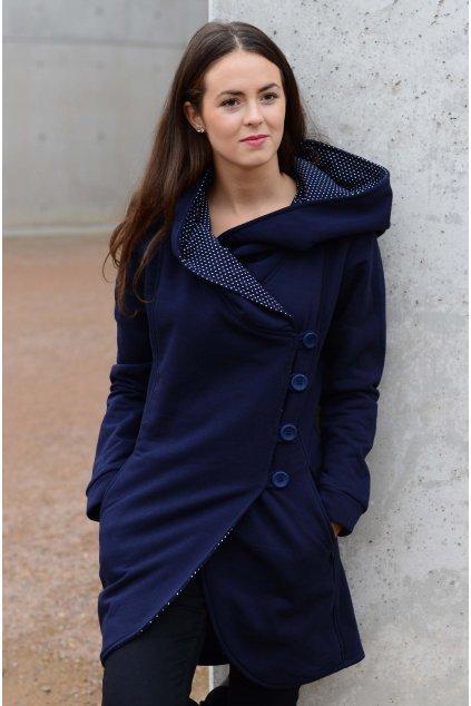 Kabát Aisha Navy