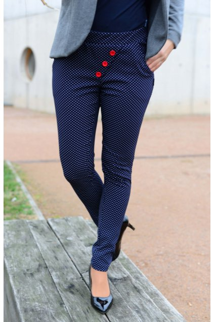 Kalhoty Reece Navy/Dott
