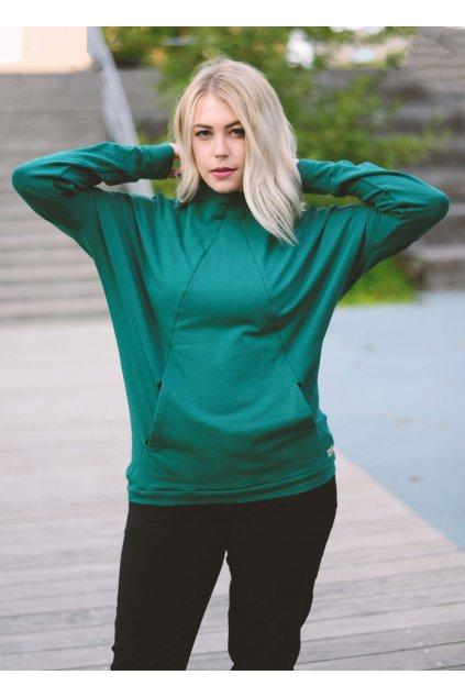 Mikina Zulu Green