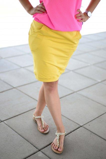 Sukně Hanna Mustard