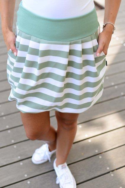 Sukně Ball Mint Stripe